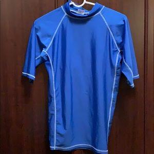 Other - XL Blue Sports short sleeve compression Shirt.